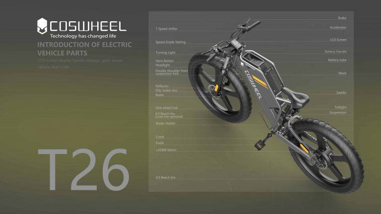 enjoy this best quality electric bike T26